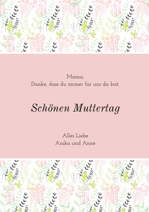 mothersdaycards Muttertagskarte