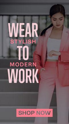 ig story womens workwear Story