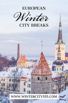 Light Toned Winter City Breaks Ideas, Pinterest Post Winter