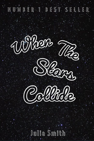 Black and White,  When The Stars Collide, Kindle Book Cover Mensajes de buenas noches