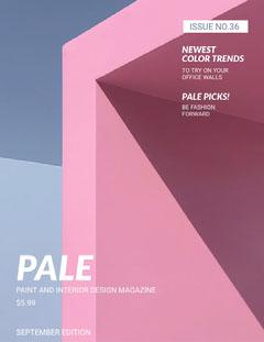 PALE Fashion Magazines Cover