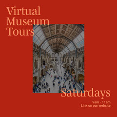 Virtual Tours Event Schedule Collage Museum