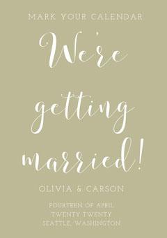 We're getting married! Weddings