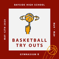 Claret and White Basketball Try Outs Igsquare  Basketball