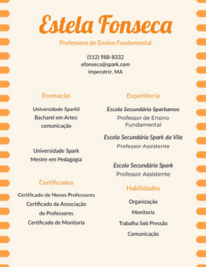 Estela Fonseca Currículo