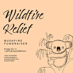 wildlife relief fundraiser instagram Animal
