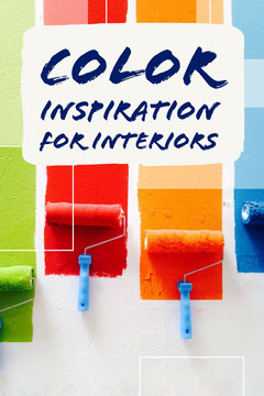 Colorful Color Inspiration For Interiors Pinterest Post Paint