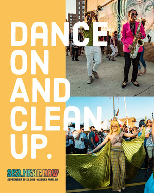 Dance <BR>On<BR>And<BR>Clean <BR>Up. Sea.Hear.Now Festival