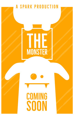 THE MONSTER Cartel de película