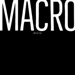 Black and White Macro Instagram Square