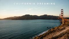 Golden Gate Bridge Photo California Themed Zoom Background California