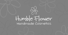 Grey and White Humble Flower Handmade Cosmetic Facebook Ad Cosmetic