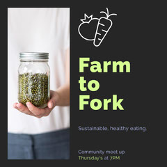 Farm to Fork Health Posters