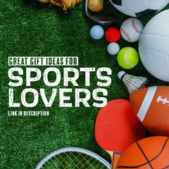 Sports Lover Gift Ideas IG Square Tennis