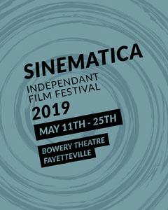 Blue and Black Festival Poster Film Festival Poster