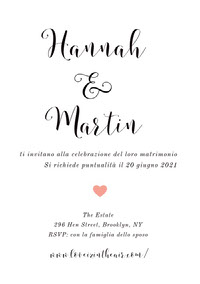 white and pink heart wedding cards  Wedding