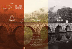 Theater Brochure with Bridge Mountains