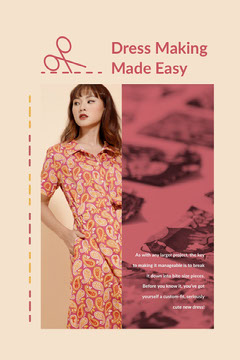 Dress Making <BR>Made Easy Dress