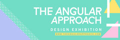 Colorful Geometric Inspired Graduation Exhibition Web Banner Exhibition