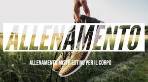 ALLENAMENTO Banner per YouTube