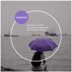 Purple and Black and White Geometric Sanguine Personality Type Square Instagram Graphic Boats