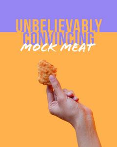 UNBELIEVABLY<BR>CONVINCING Vegan
