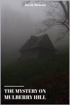 Dark Black and White Haunted House Mystery Horror Book Cover Scary