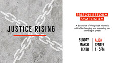 Grey and White Prison Symposium Social Post Speaker