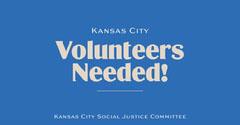 Blue Call For Volunteers Non-Profit Organization Announcement Volunteer