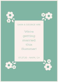 We're getting married this Summer!  Weddings