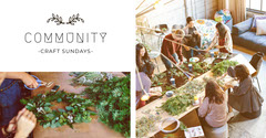 White With Photos Community Craft Facebook Page Cover Sunday