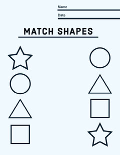 MATCH SHAPES  Classroom