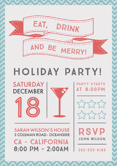 Holiday Party Flyer Holiday Party Flyer