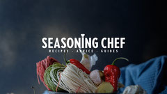 Seasoning Chef Youtube Channel Art Chef