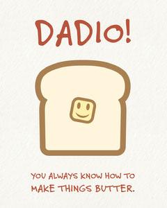 Funny Fathers Day Joke Instagram Portrait Graphic Jokes