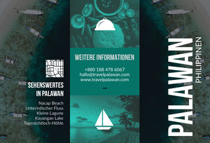 places to go in Palawan travel brochures  Broschüre