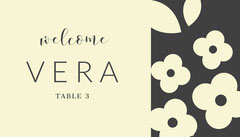 VERA  Welcome Poster