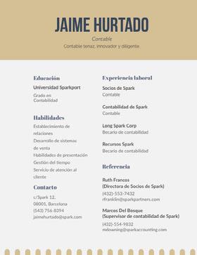 Jaime Hurtado Currículum vitae