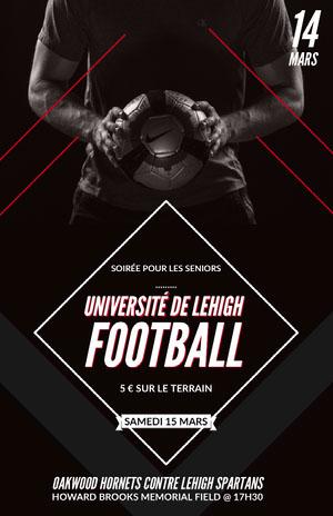 UNIVERSITÉ DE LEHIGH<BR>FOOTBALL<BR> Prospectus