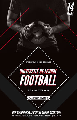 UNIVERSITÉ DE LEHIGH<BR>FOOTBALL<BR>