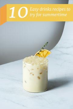 Yellow Drinks Recipes Pinterest  Drink