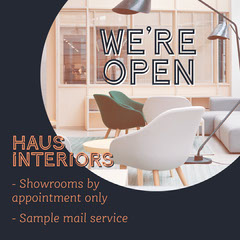 Navy Haus Interiors Furniture Instagram Square  Decor
