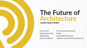 architectural event twitter banner  Ads Banner