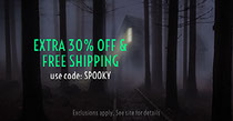 EXTRA 30% OFF & FREE SHIPPING  Scary