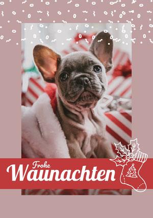 Waunachten Weihnachtskarte