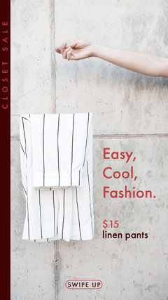 Easy,<BR>Cool,<BR>Fashion. Clothing