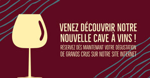 Burgundy Wine Cellar Facebook Cover  Taille d'image sur Facebook