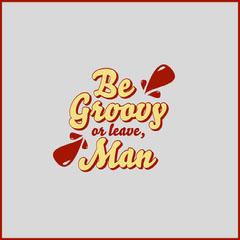 Man Typography