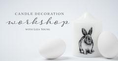 rabbit candle decoration instagram landscape Landscape
