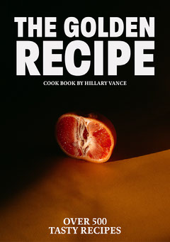 Grapefruit in Shadows Photo Cookbook Cover Fruit
